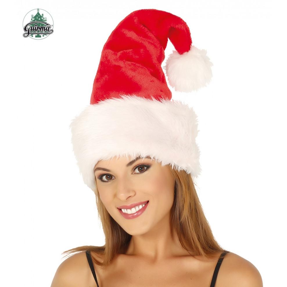 Babbo Natale Uomo Bello.Cappello Babbo Natale Extra Lusso 55 Cm